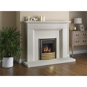 Paragon Slimline 3 Aylesbury Elite Trim Brass