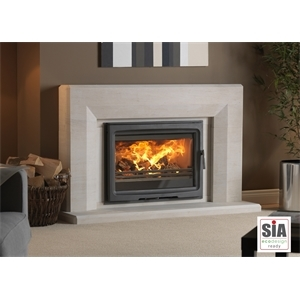 Purevision 8.5kW Inset Stove in Edgemond Ecodesign Ready